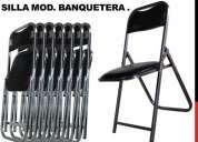 Fabrica de sillas y mesas plegables