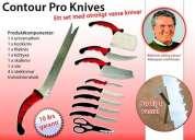 """Los mejores cuchillos del mundo """"contour pro knives"""""""