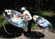 Cocina solar, estufa solar, horno solar
