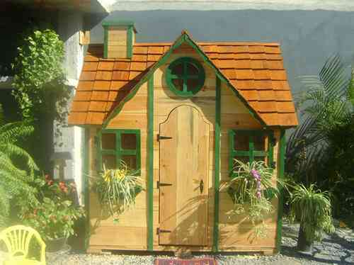 Excelentes casitas de madera para ni os a precios muy - Venta de casitas infantiles ...