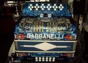 acordeon gabbanelli 3 registros en fa