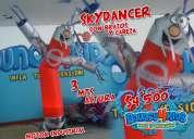 Bouncy4kids fabrica de brincolines,toros, sky dancers