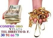 Oro y plata compro d f