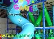 Fabricacion y venta de juegos infantiles