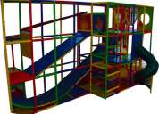 Laberintos infantiles y juegos tubulares