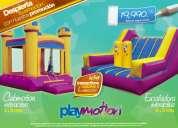 Venta de brincolines inflables playmotion