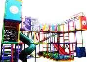 Juegos infantiles tubulares laberintos playground