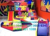 DiseÑo, fabricacion y venta de juegos infantiles.