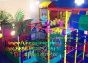 DiseÑo y fabricacion de juegos infantiles,toboganes,laberintos
