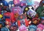 Venta mayoreo de mochilas escolares desde 10 pza