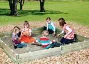 Arena silica para aereneros infantiles y peceras