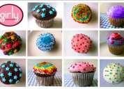 Pastelitos tipo cupcakes para fiestas y eventos.