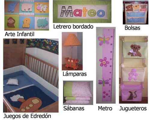 Accesorios para decorar el cuarto del beb guadalajara for Accesorios habitacion bebe