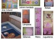Accesorios para decorar el cuarto del bebé