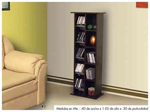 Torre udden mueble librero para cds y dvds decoramuebles - Mueble para cds ...