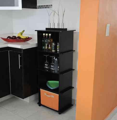 Mueble para cocina alacena zurich decoramuebles for Mueble alacena
