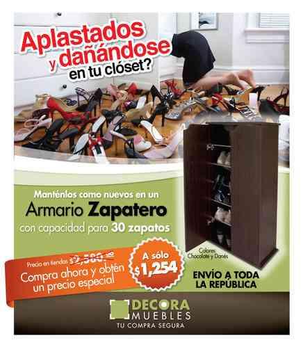 Mueble ARMARIO ZAPATERO deocramuebles