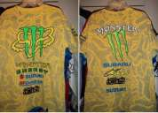 Playeras monster energy, fox, dc, metal mulisha
