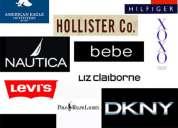 Pacas de ropa americana calida etiquetas
