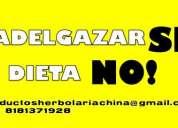 Adelgazar si, dieta no www.herbolariachina.com.mx