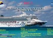 ¡vive una fascinante experiencia en crucero! desde 537,00 usd