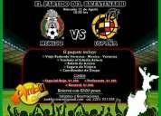 Vamos al partido mexico vs espaÑa