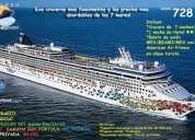 ¡cruceros fascinantes! desde 728,00 usd