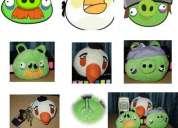 Angry birds de peluche