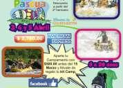 Campamentos tortuga te invita a su proxima salida de pascua 3,4,5 de abril