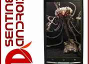 Celular sentinel android ojuled 8mp tv dual core x18i #h bfn