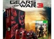 Remato... xbox 360 gears of war 3 edition 320gb mas dos controles demo (en buen estado)