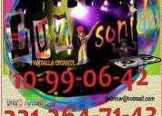 Luz y sonido en guadalajara 3312647143
