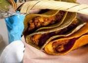 Vendedor de tacos de canasta