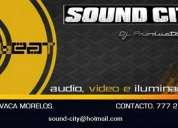 Dj para eventos en cuernavaca sound city