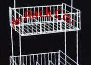 Exhibidores de metal fabricamos y vendemos