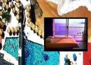 Acapulco departamento con playa y albercas en renta para 5
