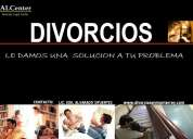 Especialistas en divorcios y materia familiar
