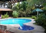 Casa en manzanillo club santiago con alberca hermosa