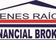 Bienes raíces financial brokers