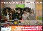 Mariachis t- 56146513 contrata profesionales en miguel hidalgo