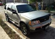 2002 ford explorer xlt 3 filas 2 aires $65000 pesos