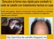 Tratamiento para el cabello | para la caida de pelo