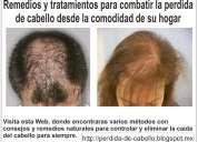 Tratamientos para el cabello | para caida de cabello