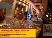 Organizacion eventos y cenas de fin de año en centro historico