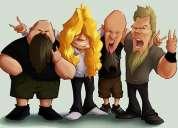 Se busca vocalista para banda de metal