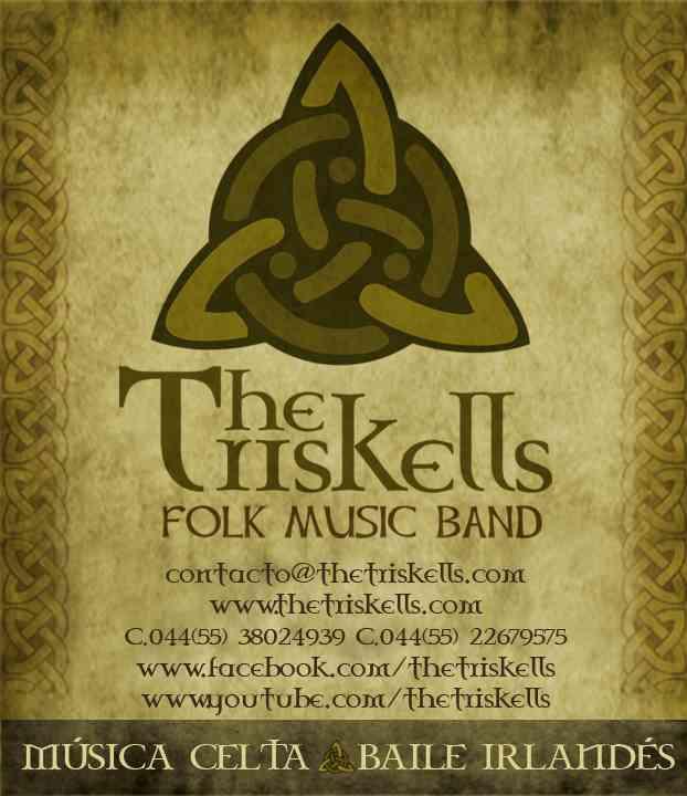 MUSICA CELTA, MUSICA IRLANDESA EN MEXICO D.F. THE TRISKELLS