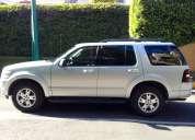 Vendo camioneta ford explorer, 4 x 2, base xlt v6, sólo tiene 33000 km