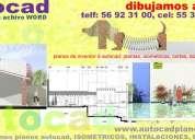 Electricidad dibujo planos en autocad levantamientos redes video monitoreo