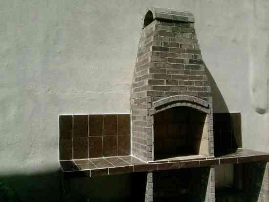 Fotos de asadores rusticos y pisos estampados en apodaca for Asadores de jardin rusticos