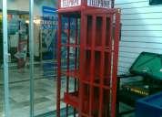 •cantina tipo caseta telefonica inglesa